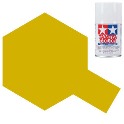 TAMIYA PS-56 Mustard Yellow Polycarbonate Spray Paint 100ml Lexan RC Car Body