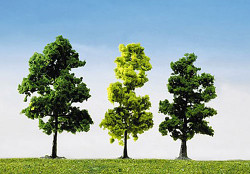 FALLER Mixed Forest Trees 100mm (15) HO Gauge Scenics 181497