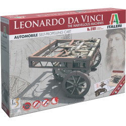 ITALERI Self Propelling Cart - Marvellous Machines 3101 Leonardo Vinci Model Kit