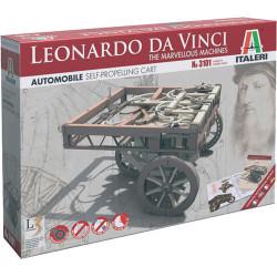 ITALERI Self Propelling Cart - Marvellous Machines 3101 Leonardo Vinci Model Kit