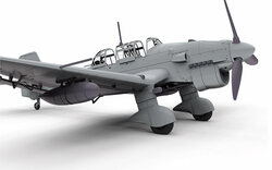 AIRFIX A07115 Junkers JU87B2/R-2 1:48 1:48 Aircraft Model Kit