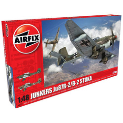 AIRFIX A07115 Junkers JU87B2/R-2 1:48 1:48 Aircraft Model Kit