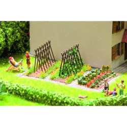 NOCH Bean Supports (6) Laser Cut Minis Kit HO Gauge Scenics 14604