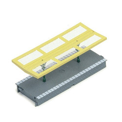 HORNBY R514 Platform Canopies Station Kit