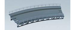 FALLER Curved (360mm Radius) Track Bed Model Kit I HO Gauge 120475