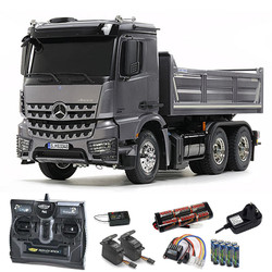 TAMIYA RC 56357 Mercedes Arocs 3348 6x4 Tipper Truck 1:16 Truck Kit +radiobundle