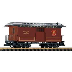 PIKO PRR Wood Baggage Car 22146 G Gauge 38627