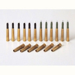 TAMIYA 35182 Pz.Kpfw.IV 75mm Brass Shells 1:35 Military Model Kit