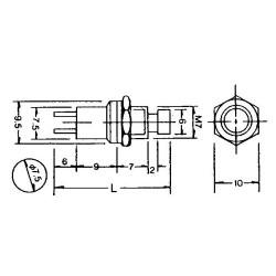 GAUGEMASTER Push to Make Switch Pack - White (5) GM517