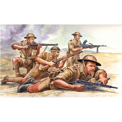 ITALERI British 8th Army WWII 6077 1:72 Figures Kit