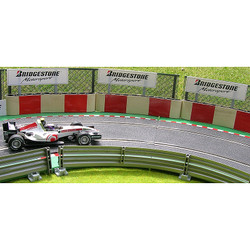 SLOT TRACK SCENICS TC-R Tyre Covers x5 Red Blocks - for Scalextric
