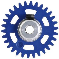 NSR 3/32 AW Soft Plastic Gear 30t Dark Blue w/Alu Hub 16mm NSR6630