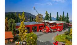 FALLER Modern Fire Station Model Kit V HO Gauge 130160