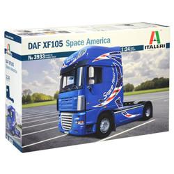 ITALERI DAF XF-105 Space America 3933 1:24 Truck Model Kit