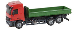 FALLER Car System LKW MB Actros L02 Low Sided Lorry V HO Gauge 161481