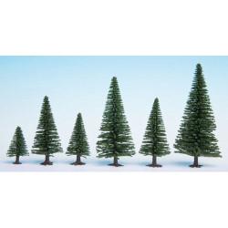 NOCH Fir (10) Hobby Trees 5-14cm HO Gauge Scenics 26920
