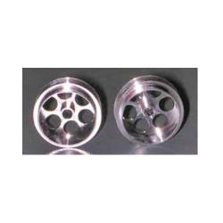 """NSR 3/32 Alum. Wheels Front 17"""" Diameter No-Air System (2) NSR5003"""