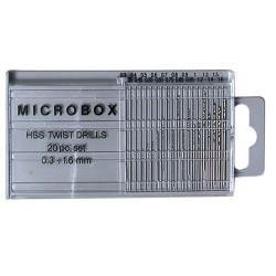 GAUGEMASTER Microbox Drills 0.3-1.6 GM648