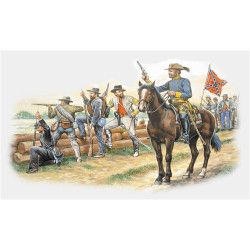 ITALERI American Civil War Troops (1863) 6014 1:72 Figures Model Kit
