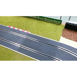SLOT TRACK SCENICS K-S Kerb - Straight 175mm x 4 - for Scalextric
