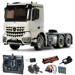 TAMIYA RC 56352 Mercedes Arocs 3363 6x4 Classic Space 1:14 Truck Kit +rad.bundle