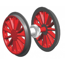 PIKO Geared Wheelset for BR194 G Gauge 36178