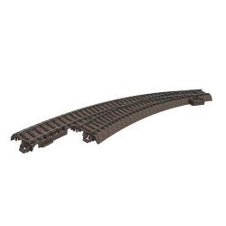 TRIX Minitrix C Track Left Hand Curved Turnout Radius 3 30 Deg HO Gauge M62771