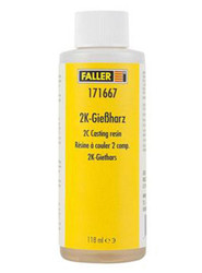 FALLER Casting Resin (118ml) HO Gauge 171667