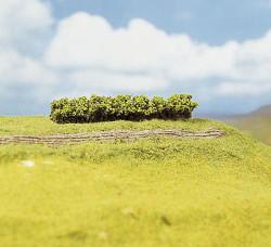 FALLER Light Green Premium Hedges 100x15x10mm (4) HO Gauge Scenics 181356