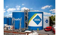 FALLER ARAL Large Oil Tanks Model Kit V HO Gauge 130485