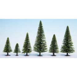 NOCH Spruce (10) Hobby Trees 5-14cm HO Gauge Scenics 26925