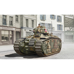 ITALERI WOT Char B1 Bis 15766 1:56 Tank Model Kit