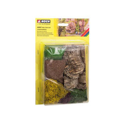 NOCH Mini Starter Landscaping Kit HO Gauge Scenics 60803
