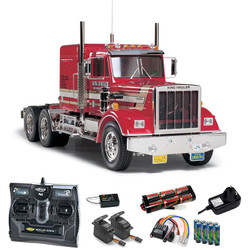 TAMIYA RC 56301 King Hauler Truck 1:14 Kit + radio bundle