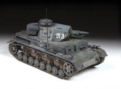 ZVEZDA 3641 Panzer IV Ausf H (Sd.kfz.161/2) 1:35 Tank Model Kit