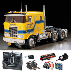 TAMIYA RC 56304 Globe Liner Truck Kit 1:14 Kit + radio bundle