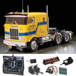 TAMIYA RC 56304 Globe Liner Truck Kit 1:14 Kit + radio bundle