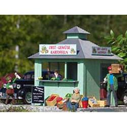 PIKO Fresh Produce Kiosk Kit G Gauge 62117