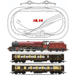HORNBY Digital Train Set HL14 - 2019 Large Layout with Suspension Bridge