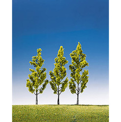 FALLER Birch Trees 130mm (3) HO Gauge Scenics 181420