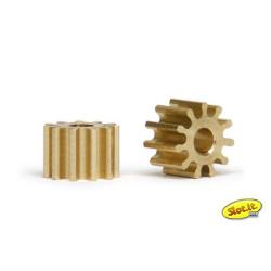 SLOT.IT Pinions 11 Teeth 6.75mm (2) SIPI6711O