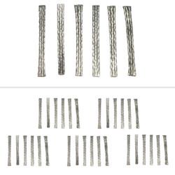 SCALEXTRIC GENUINE C8075 Slot Car Braids - 5 x Packs  of 6
