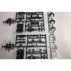 TAMIYA 58584 TT02D Drift Spec Chassis, 9000614/19000614, A Parts
