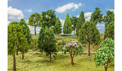 FALLER Deciduous Trees 130mm (30) HO Gauge Scenics 181525