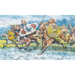 ITALERI Celtic Cavalry 6029 1:72 Model Kit Figures