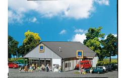 FALLER ALDI Supermarket Model Kit V HO Gauge 130339