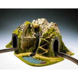 NOCH Single Track Curved Tunnel 41x37x22cm HO Gauge Scenics 05170