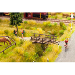 NOCH Small Footbridge Laser Cut Minis Kit HO Gauge Scenics 14620