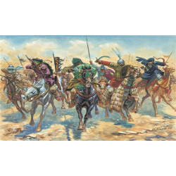 ITALERI Medieval Era Arab Warriors 6126 1:72 Model Kit Figures