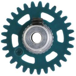 NSR 3/32 AW Soft Plastic Gear 29t Pale Green w/Alu Hub 16mm NSR6629